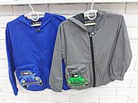 Куртка ветровка для мальчика 98-128 см