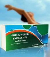 Чай Тиань Шень Green World тонизирующий.Снимет усталость и стресс,добавит энергии.20 пак.по 4 гр