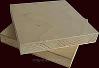 Столярная плита  (береза) 1250х2500х18 мм.