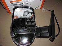 Зеркало боковое ГАЗ 3302 нового образца с поворотного левый черное, глянец  46.8201021-50