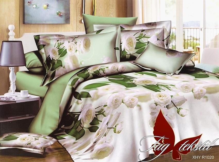 Комплект постельного белья XHY1020 семейный (TAG polycotton (sem)-394)