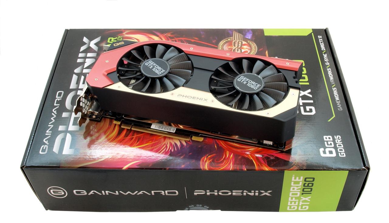 "Видокарта Gainward GTX1060 Phoenix Golden Sample 6GB GDDR5 (192bit) ""Over-Stock"""