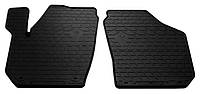 Резиновые передние коврики для Skoda Fabia II (5J) 2007-2014 (STINGRAY)