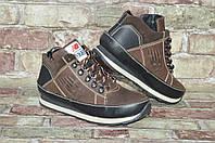 5166e7e2 Мужские зимние кожаные ботинки (кроссовки) New Balance 373 Нью Беланс