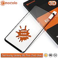 Защитное стекло Mocolo Samsung Galaxy S8 Plus 3D (Black) Full Glue