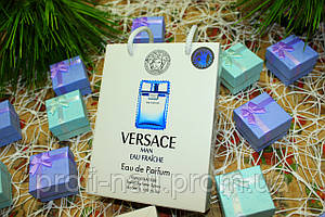 Versace Man Eau Fraiche - Travel Perfume 50ml в подарочной упаковке