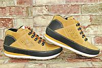 Мужские зимние кожаные ботинки (кроссовки) New Balance 373 Нью Беланс
