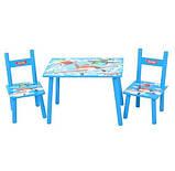 Детский столик и два стула M 1699 Аэротачки, фото 2