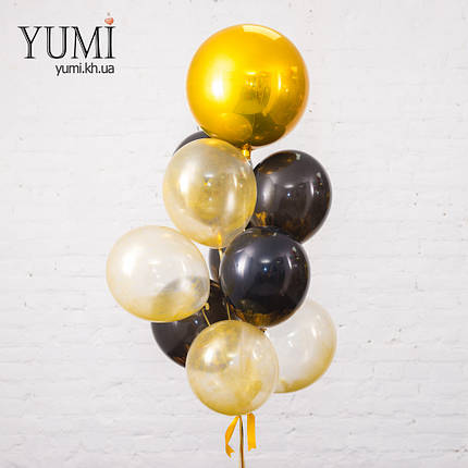 Композиция из 11 гелиевых шаров для мужчины, фото 2