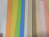 Рулонные шторы Лен оранжевый 852, фото 3