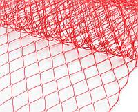 Сетка вуальная красная 24х50см