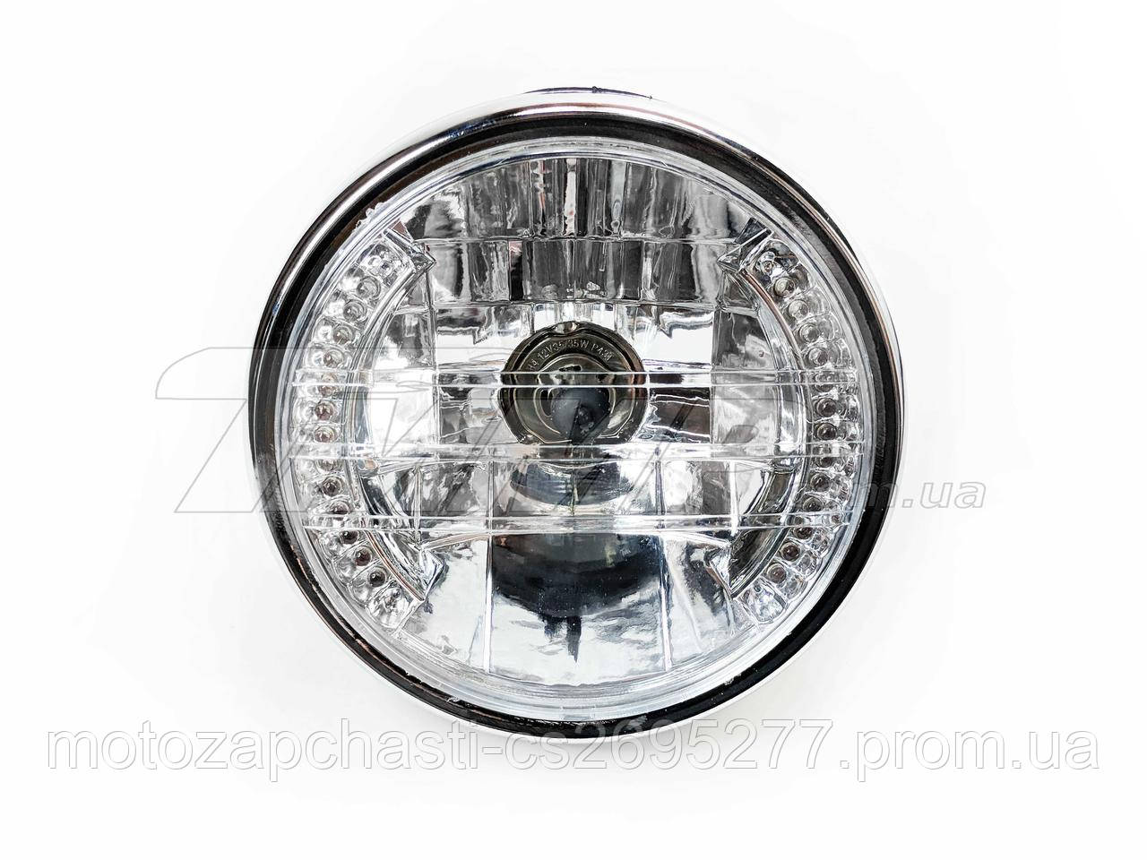 Фара круглая Honda с LED подсветкой TRW