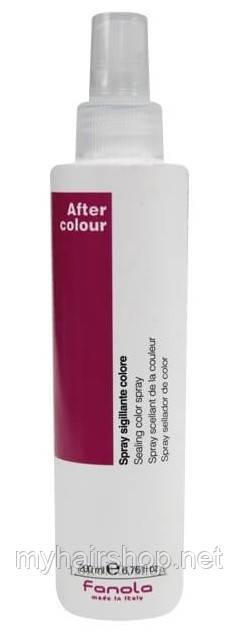 Спрей для окрашенных волос FANOLA After Colour Sealing Сolor spray 200 мл