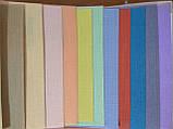 Рулонные шторы Лен голубой 074, фото 2