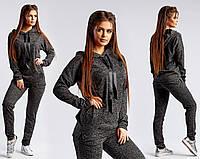 Женский спортивный костюм с люрексом