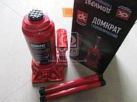 Домкрат бутылочный, 6т, красный H=200/385  JNS-06