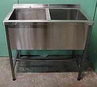Ванна моечная 2-х секционная