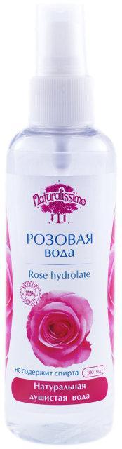 Гидролат Розы, натуральный био тоник, 100 мл