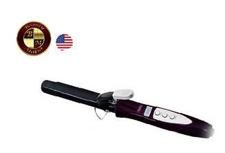 Современная плойка для волос Wahl круглая 33 мм фиолетовая