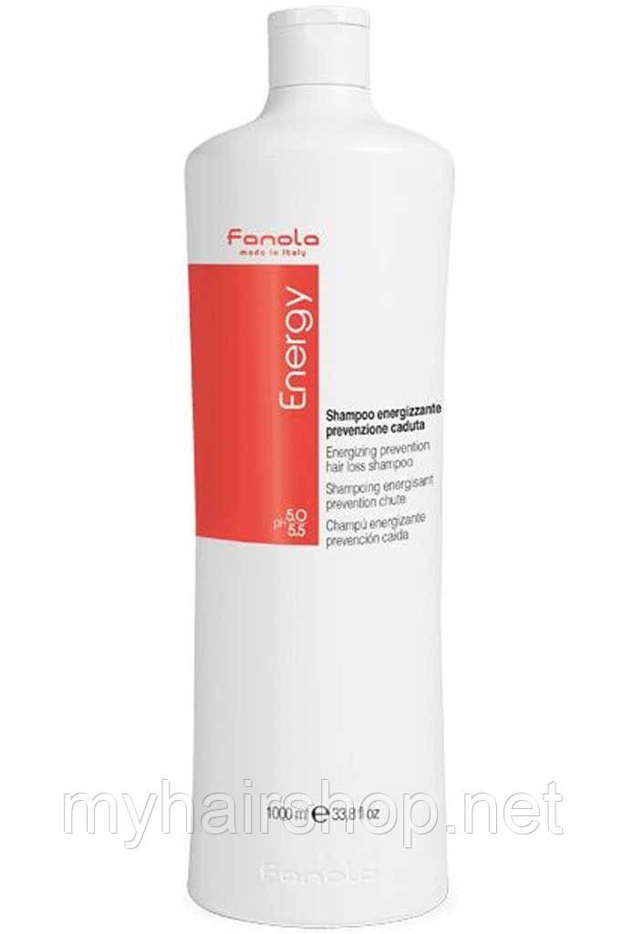 Шампунь против выпадения волос FANOLA Energy Anti Hair Loss Shampoo 1000 мл