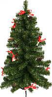 Елка искусственная с декором: шишками и ягодами, новогодняя, рождественская (70 см.)