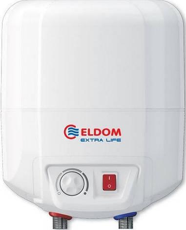 Водонагрівач ELDOM Extra life 10 над мийкою 2.0 kw 72325NMP, фото 2