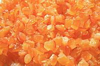 Зацукровані апельсинові кубики 3 х 3 мм Nappi, фото 2