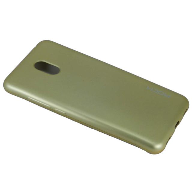 чехол накладка Meizu M6 матовый золотистый