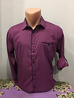 Модная мужская рубашка S-2XL
