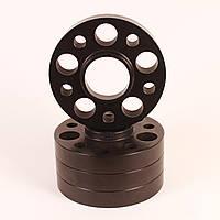 Алюминиевые колесные проставки  5х112,  Dia = 66,6, 25мм. ( Audi, Mercedes)