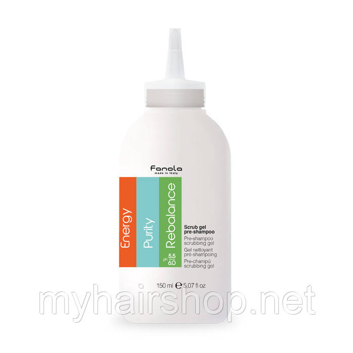 Пре-шампунь (пилинг для кожи головы) FANOLA Pre-Shampoo Scrubbing Gel 150 мл