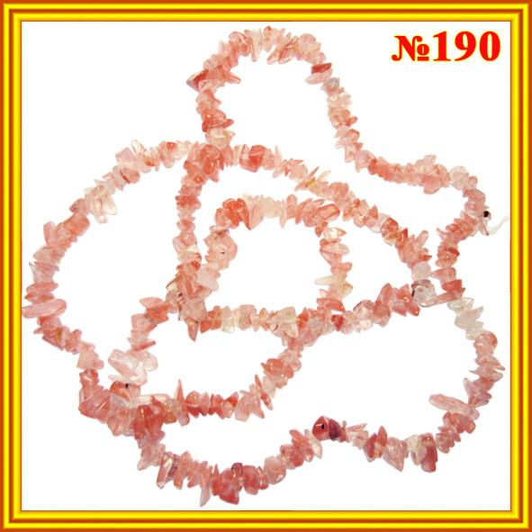 Сколы натурального камня Кварц Розовый