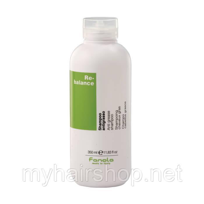 Шампунь проти жирності волосся FANOLA Re-Balance Sebum Regulator Shampoo 350 мл