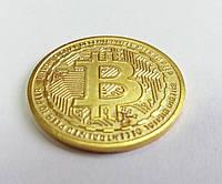 Монета сувенирная Bitcoin