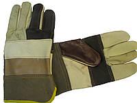 Перчатки кожаные рабочие