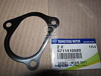 Провкладка заслонки (Производство SsangYong) 6711410680