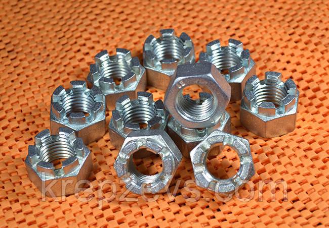 Гайка М36 DIN 935 класса прочности 10.0