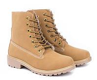 Зимние ботинки, женские из эко кожи