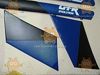 Облицовка задней стойки ВАЗ 2101 - 2106 2шт сине-черн (на ДВП) (пр-во Россия)