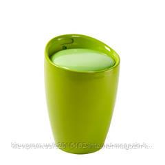 Стул-тумба с нишей для мелочей Home4You AXEL  Green  с нишей