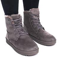 Ботинки зимние с Польши на шнуровке