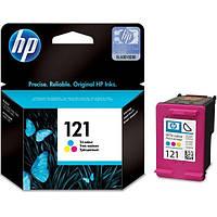 Картридж струйный HP для DJ D2563/F4283 HP 121 Color
