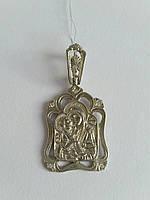 Серебряная ладанка Владимирской иконы Божией Матери (арт. 02-П40072)