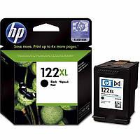 Картридж струйный HP для DJ 1050/2050/3050 HP №122XL Black  повышенной емкости