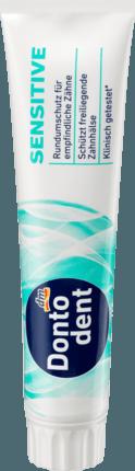 Зубная паста Dontodent Sensitive, 125ml.
