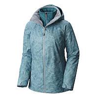 5c3e2ab4 Женская куртка Columbia 3 в 1 WHIRLIBIRD™ INTERCHANGE JACKET темно-бирюзовая  SL7223 938