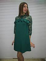 Женское нарядное вечернее платье производства Турция р38