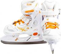 Коньки ледовые для девочки раздвижные Tempish NEO-X ICE LADY 13000008263