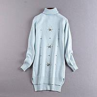 Женское вязаное платье ViV-846