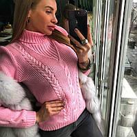 Теплый зимний свитерок Cat, фото 1